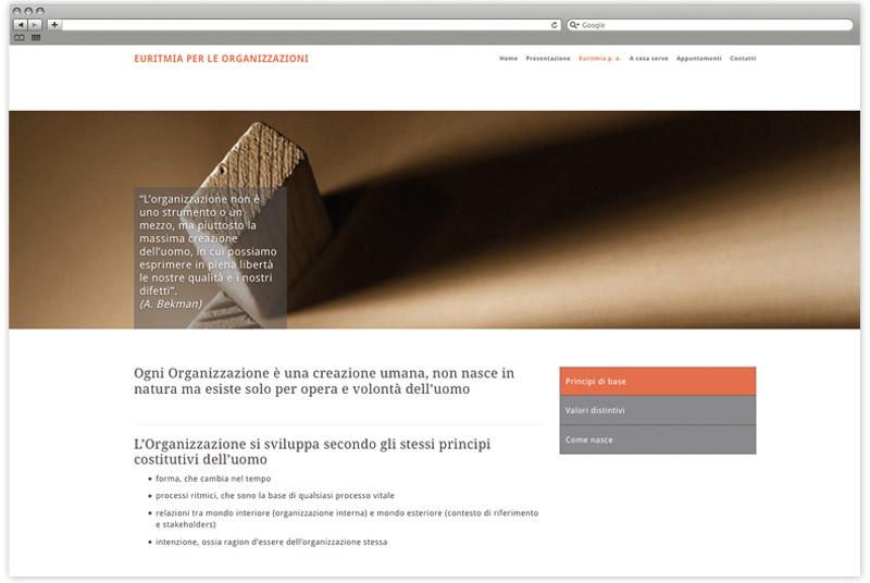 Euritmia per le organizzazioni