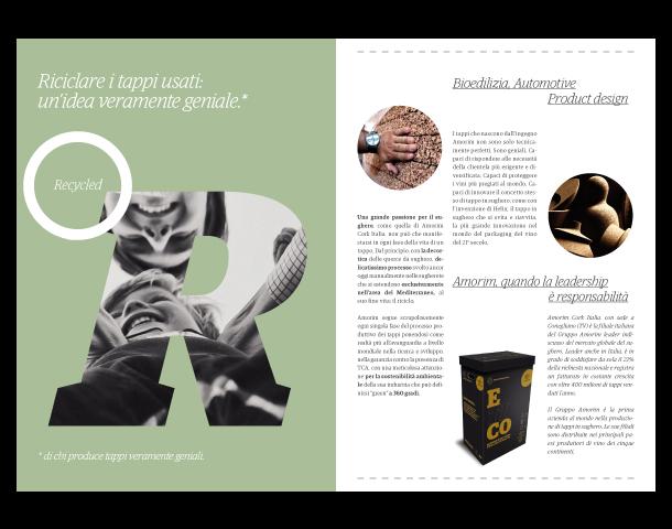 Amorim Cork Italia - Depliant Etico